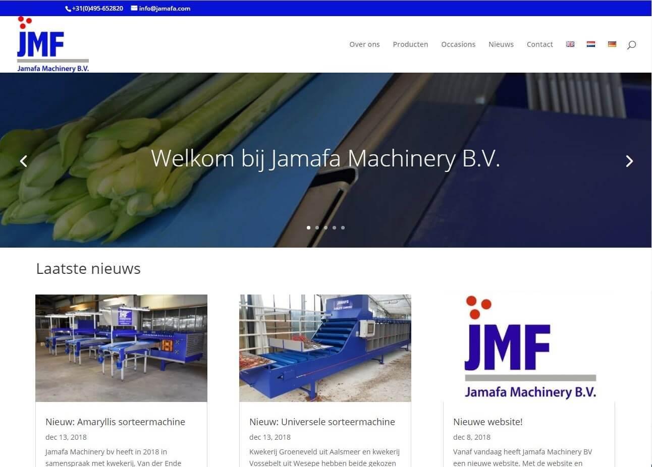 Jamafa homepage