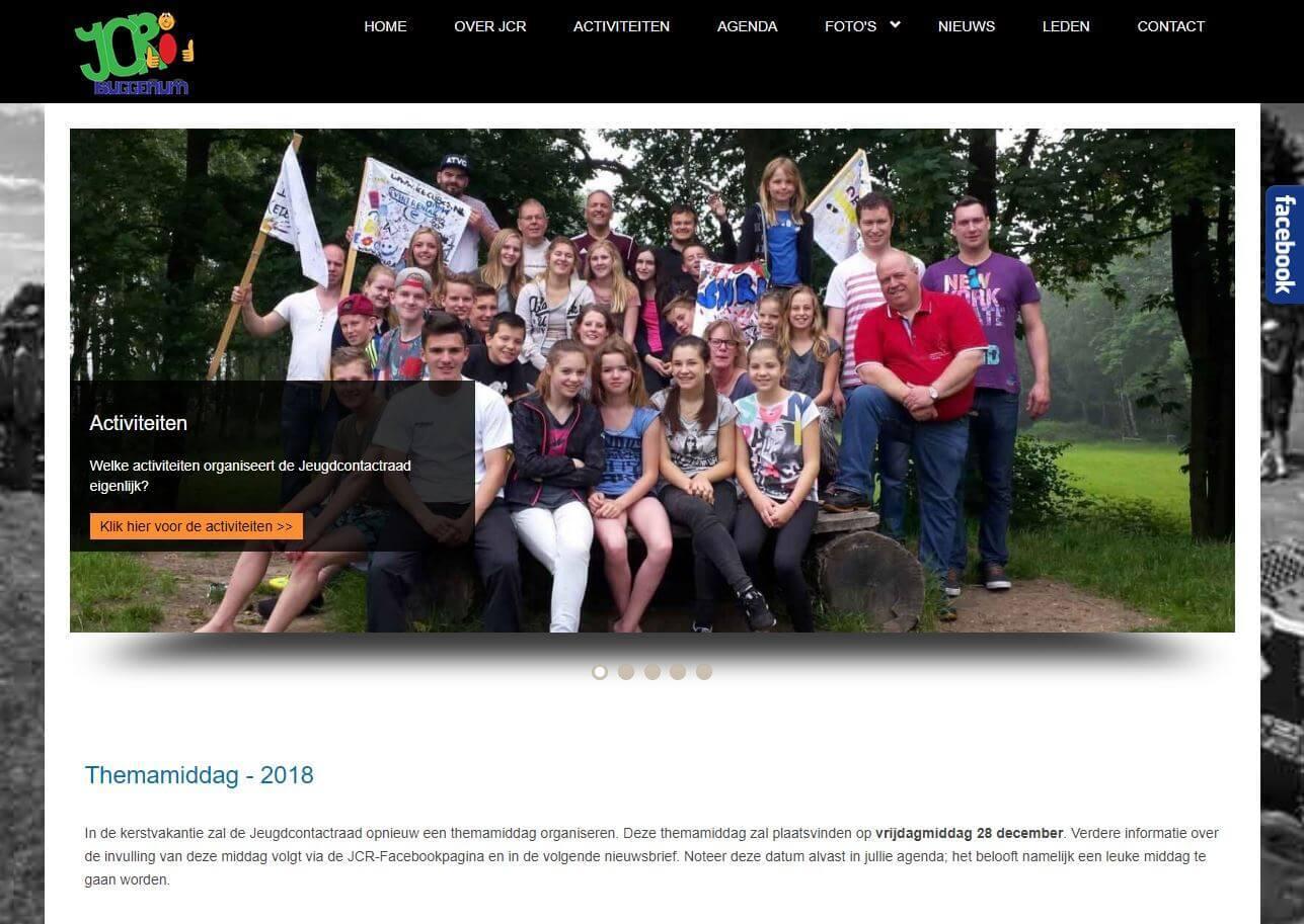 Jeugdcontactraad homepage