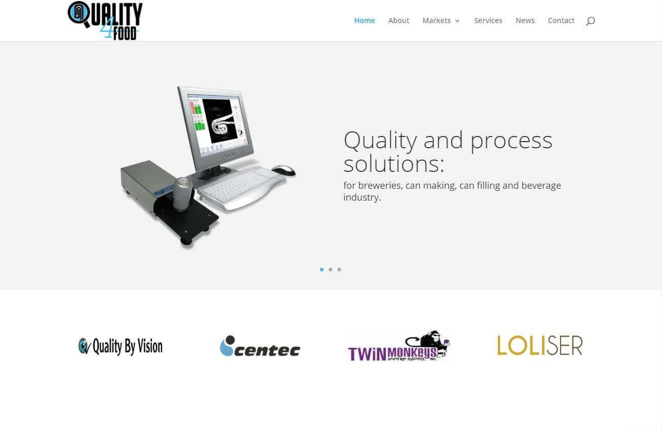 Quality4Food homepage