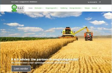 R & S Advies homepage